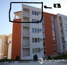 Cheap studio in st.vlas with sea view